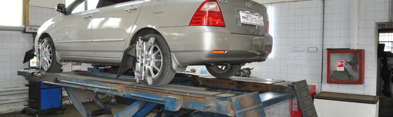 Сход-развал колёс в Хабаровске